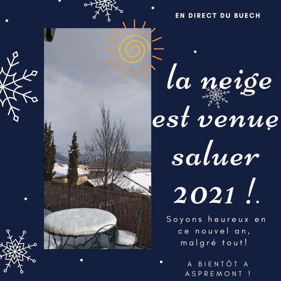 1ére neige 2021