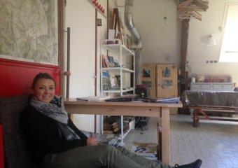 Small break in the mini lounge