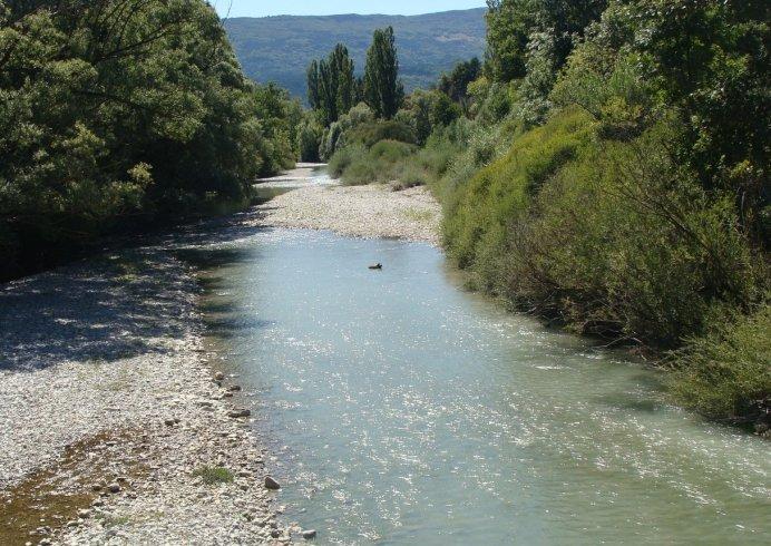 la rivière BUECH à Aspremont