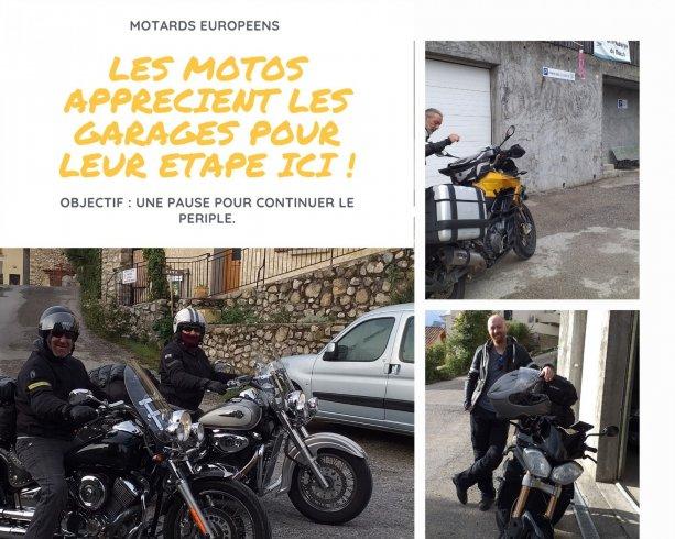 les motards européens